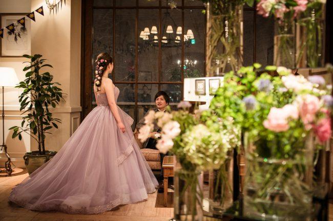 ラップンツエル|ディズニーウエディング|グランマニエのウエディングドレス