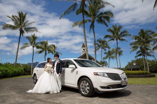 ハワイウエディング|グランマニエのウエディングドレス