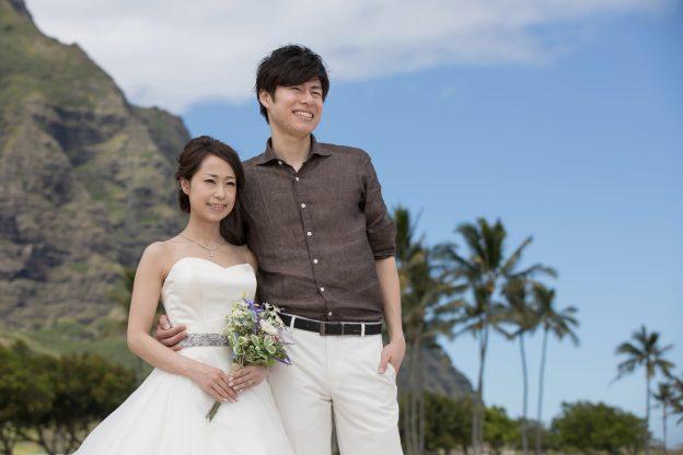 ハワイウエディング|グランマニエの花嫁
