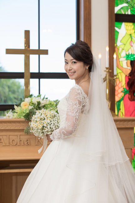 コーディネート|グランマニエの花嫁|リゾート婚|ハワイ