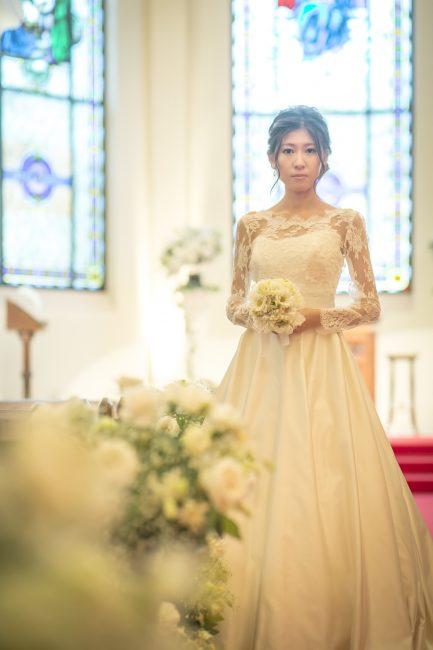 ブーケ|白|グランマニエのウエディングドレス
