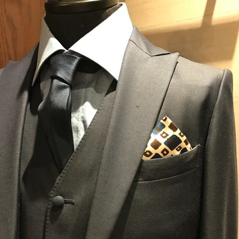 ポケットチーフ|グランマニエのタキシード|メンズ