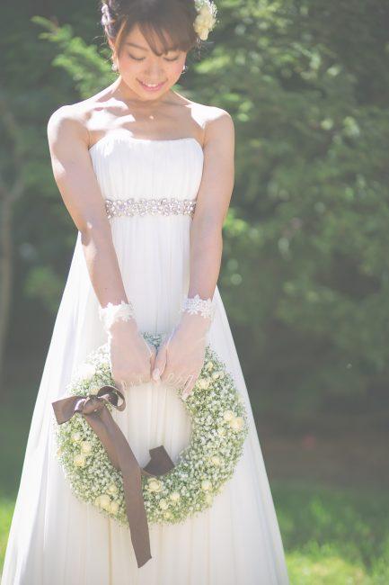 ナチュラル婚|プレ花嫁|ガーデン