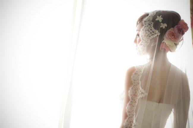 ベール|グランマニエのウエディングドレス