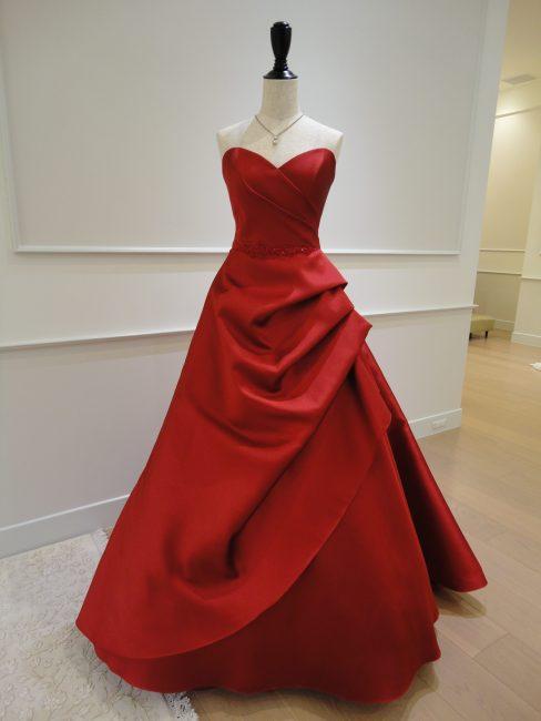 ブレイク|グランマニエのカラードレス|赤|レッド