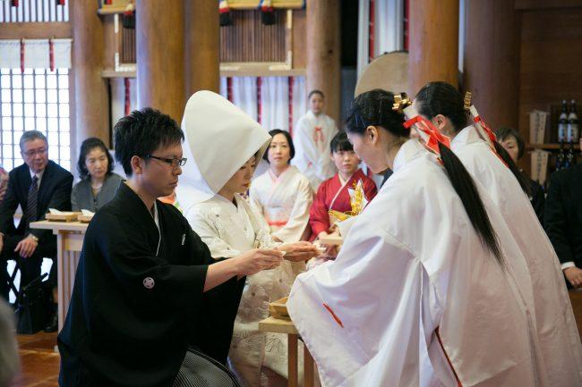白無垢|神宮挙式|グランマニエの花嫁