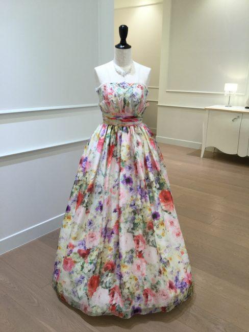 ダニエッラ|花柄ドレス|グランマニエのカラードレス
