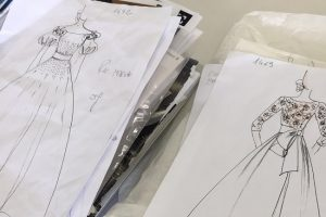 アトリエ|オートクチュール|デザイン画|手作業