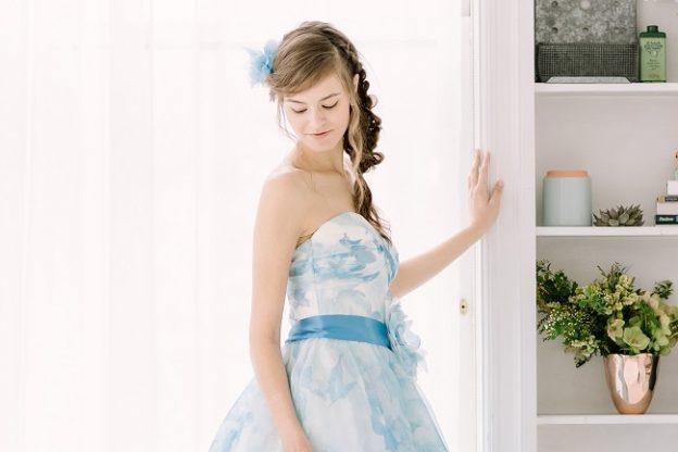 Poem blue ポエムブルー カラードレス