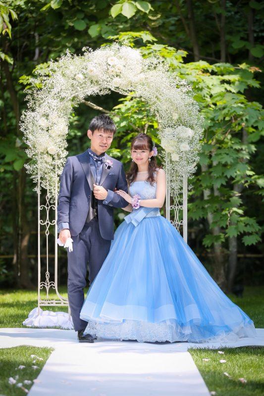マリリンモンロー|ブルー | グランマニエのウエディングドレス