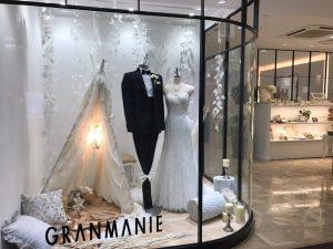 【シルヴィー】繊細なビジューに美しいマーメイドラインのウエディングドレスを展示