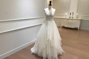 CATLIN | カテリーン| チュールドレス|ビジュー|グランマニエのウエディングドレス