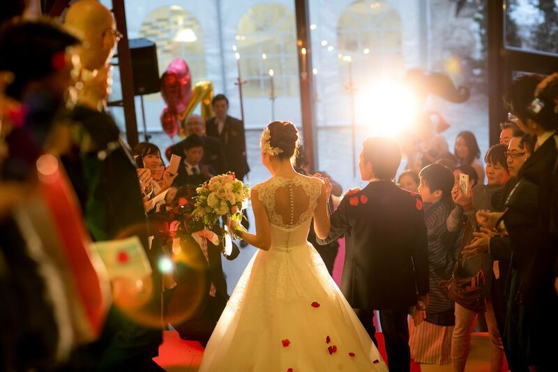 メリッサ|バックスタイル|グランマニエのウエディングドレス