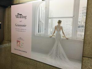 【銀座ジャック!】グランマニエのポスターが 地下鉄銀座駅構内に!