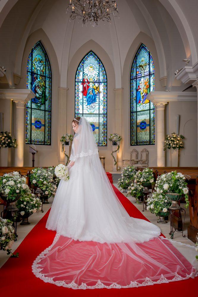 メリッサ グランマニエのウエディングドレス