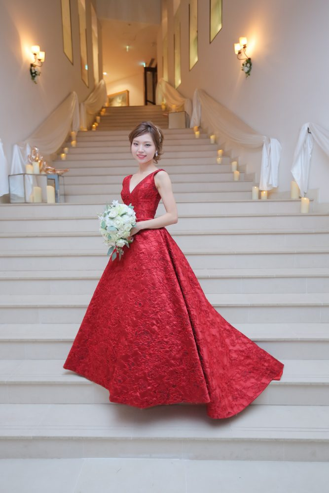 DALI | ダリ|赤ドレス|レッドドレス|グランマニエのカラードレス