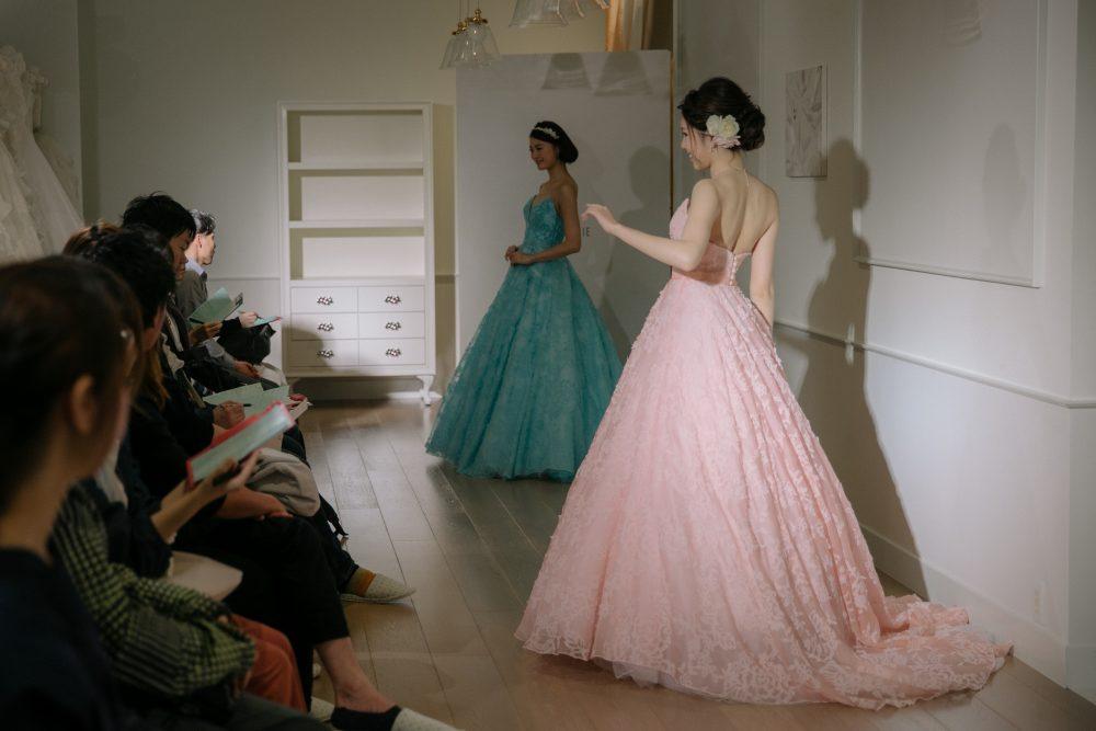 フロアショー グランマニエ カラードレス
