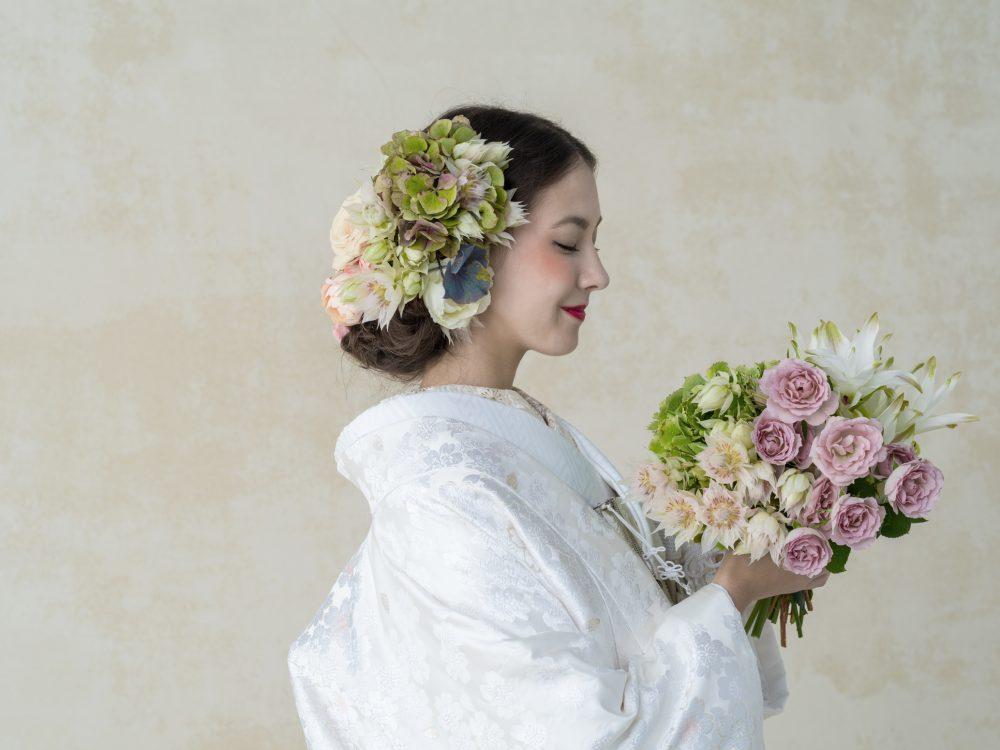 グランマニエの花嫁|白無垢|桜花