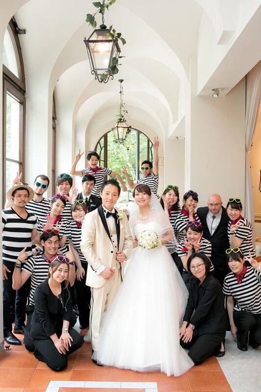 ドレスコード|ウエディングパーティー|グランマニエの花嫁