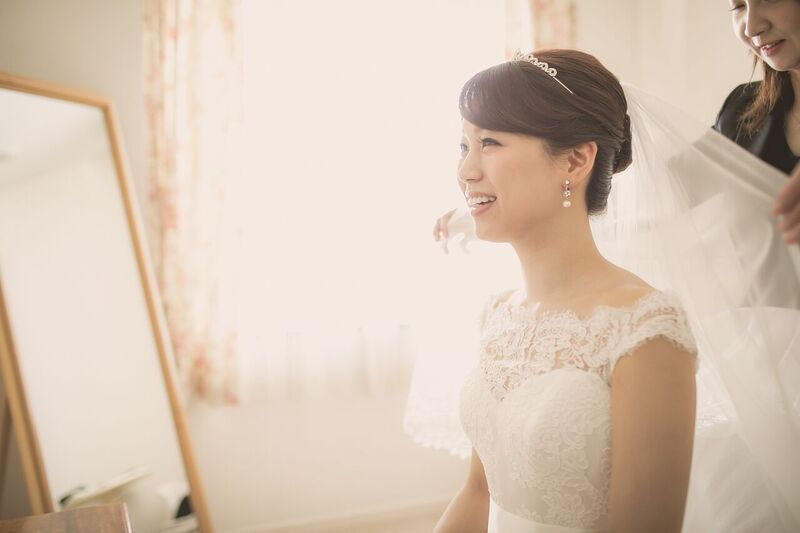 コーディネート|グランマニエの花嫁