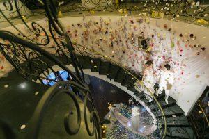 グランマニエドレスショー|螺旋階段