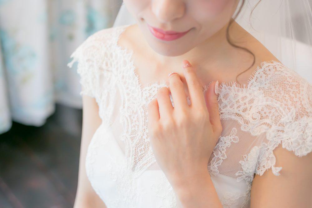 お支度ショット グランマニエの花嫁
