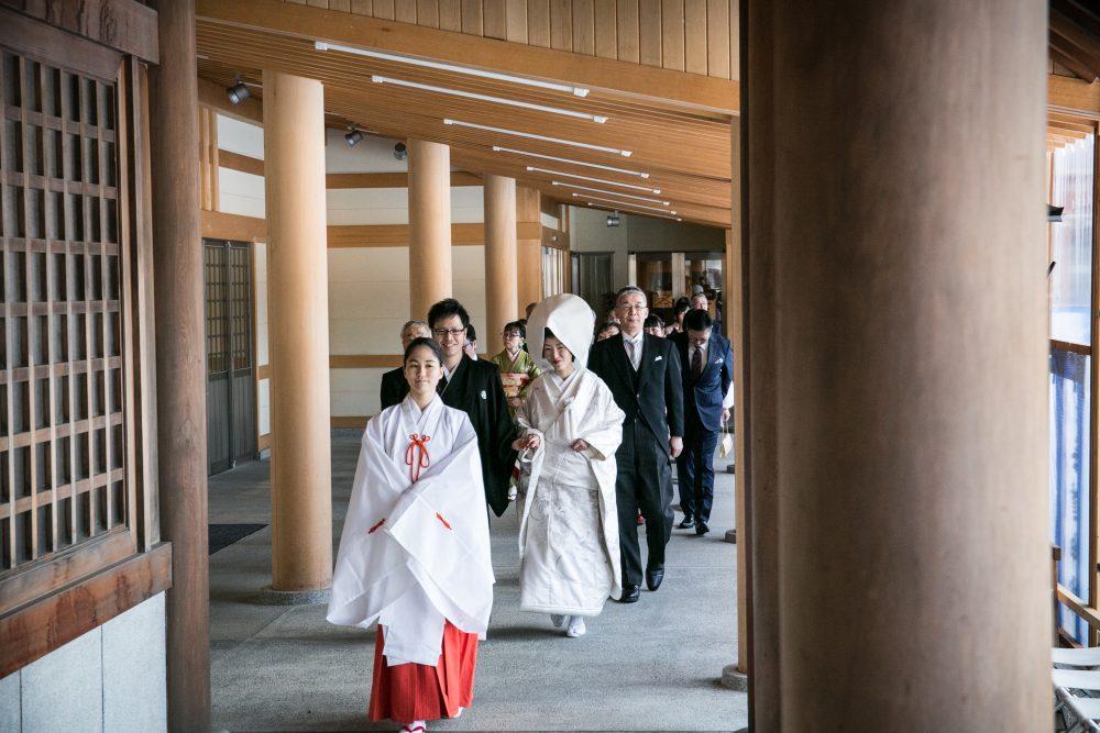和装|北海道神宮|花嫁