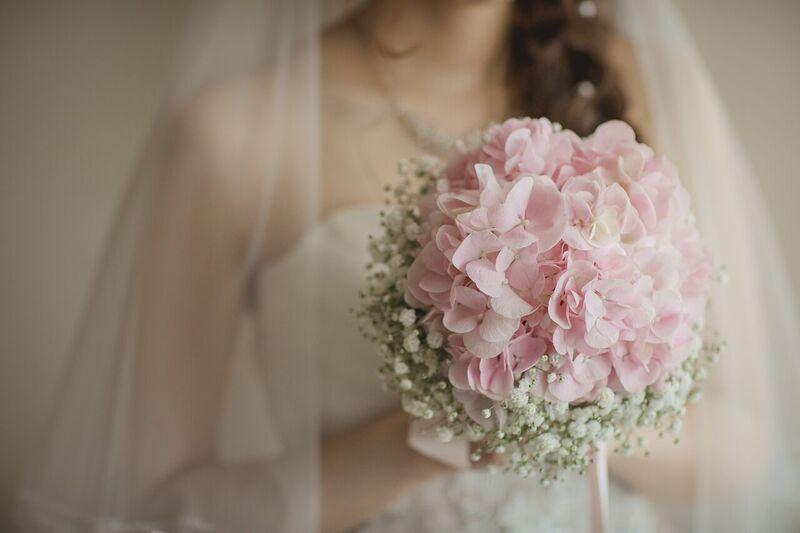 紫陽花|ピンク|ブーケ