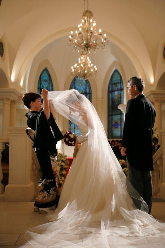 ベールダウン|グランマニエの花嫁