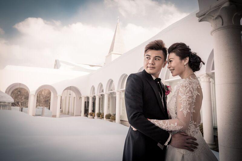 前撮|ローズガーデンクライスト教会|グランマニエの花嫁