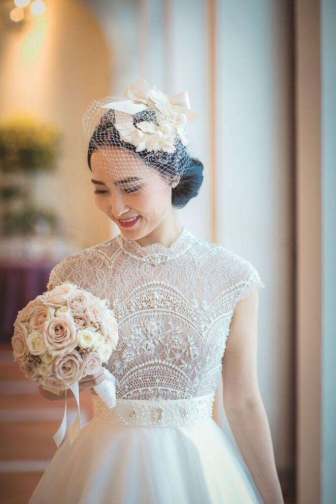 ヘッドドレス 小物 グランマニエの花嫁