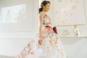 フロアショー|カラードレス