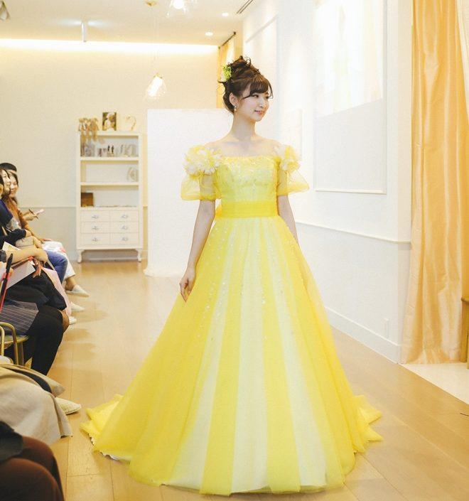 イヴイエロー|FIO|グランマニエのカラードレス