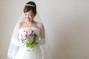 おだんごヘア|アップスタイル|花嫁