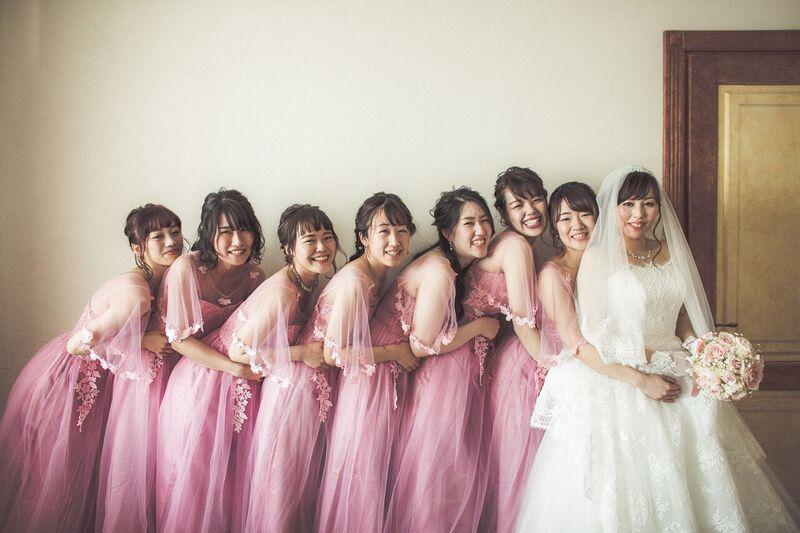 ブライズメイド|ピンク|グランマニエの花嫁