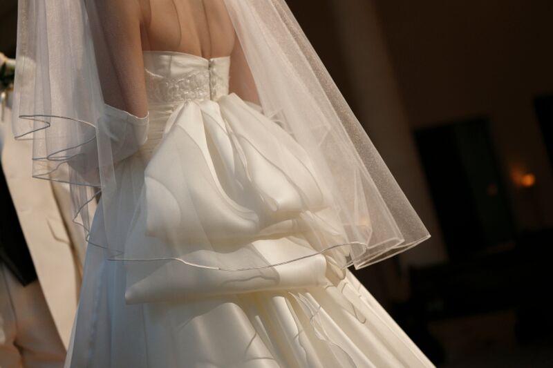 ショートベール|グランマニエのウエディングドレス