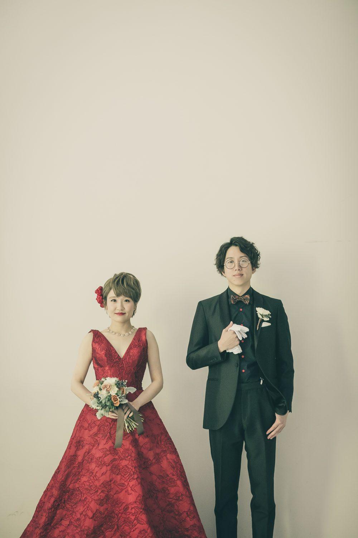 DARI | ダリ|グランマニエのカラードレス|レッド