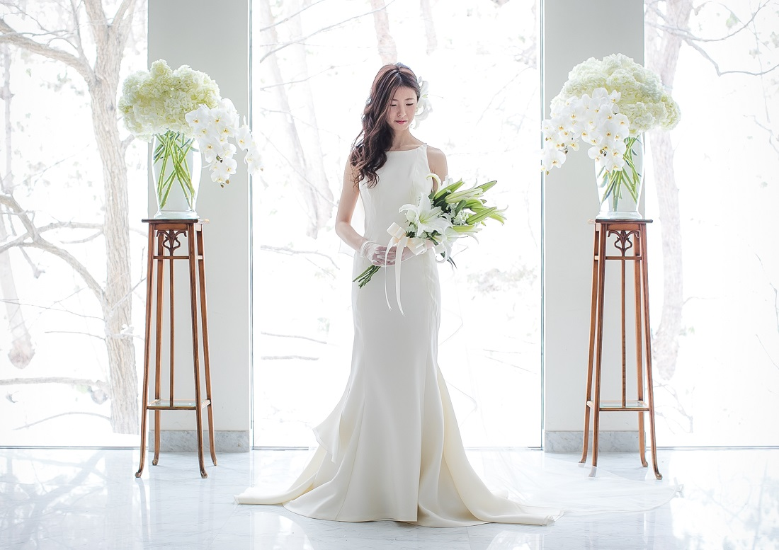 ビアンカ|スレンダー|グランマニエのウエディングドレス