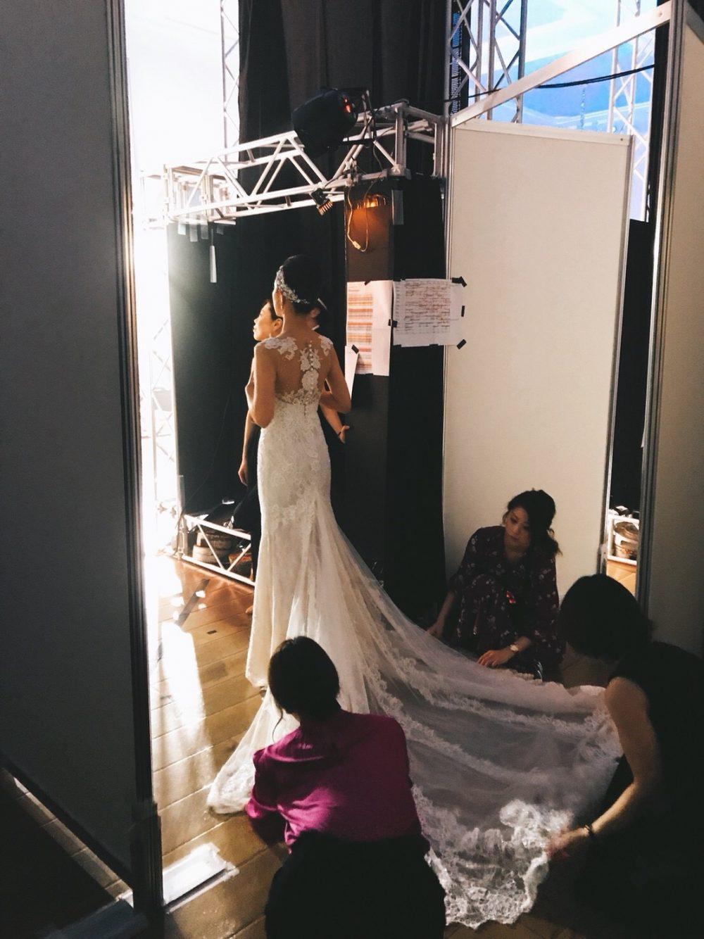 グランマニエのドレスショー|裏側