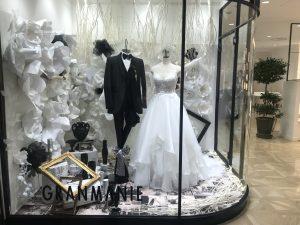 【カテリーン】小柄な花嫁様もぴったりのナチュラルドレスを展示