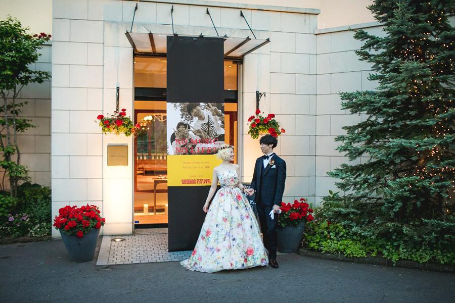 57297b6f7c72e 花嫁の声 音楽好きなおふたりのフェスパーティ |グランマニエ東京銀座 ...