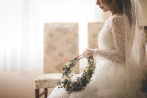 リースブーケ|グランマニエの花嫁